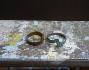 Set of Two 1970's Rings