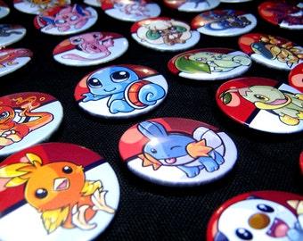 Pokemon Buttons