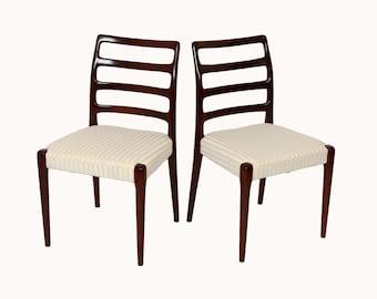 Items Similar To Mid Century Teak Wood Chairs Modern