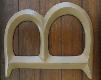 Letter B/ Pick Your Own Letter/ Wall Letter/ Distressed Light Brown or Pick Your Color/ Wall Decor/Mantle Decor/Capital Letters / Initials