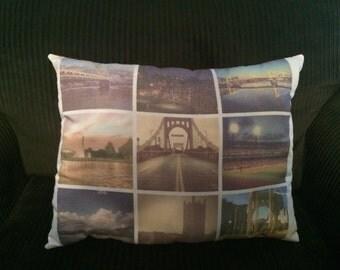 Custom Large Instagram Photo Pillow
