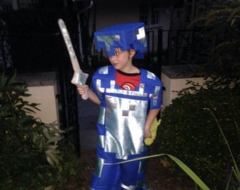 Minecraft Steve Costume with Full Details