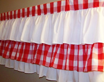 Pom Pom Trim Curtains 1950S-Style Kitchen Curtains