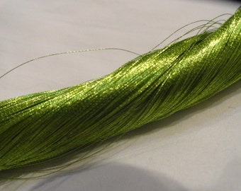Urushi Lacquered Japanese Silk Thread