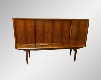 Rosewood Sideboard Credenza Mid Century Danish Modern