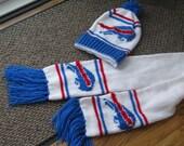 BUFFALO BILLS Look Hat and Scarf Set