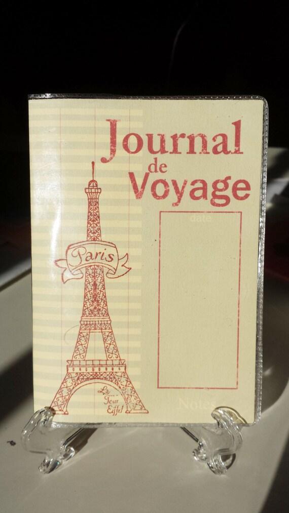Bon Voyage Eiffel Passport Cover Holder Card Custom
