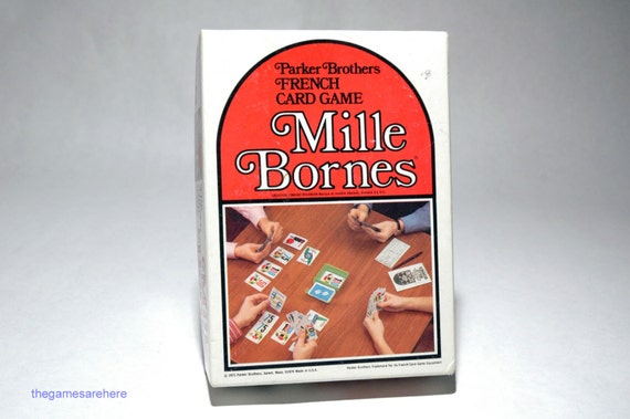 mille bornes jeu de cartes fran ais de parker brothers 1971. Black Bedroom Furniture Sets. Home Design Ideas