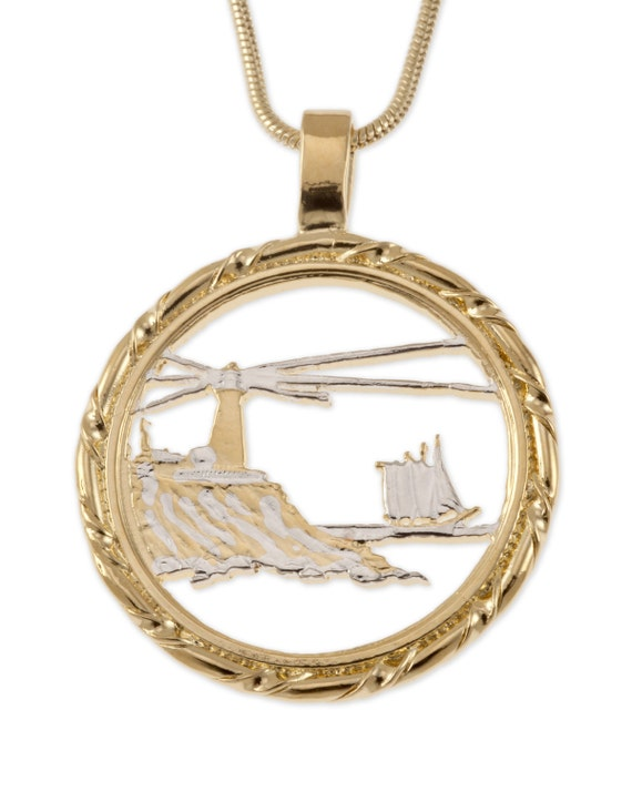 lighthouse pendant and necklace jewelry maine state