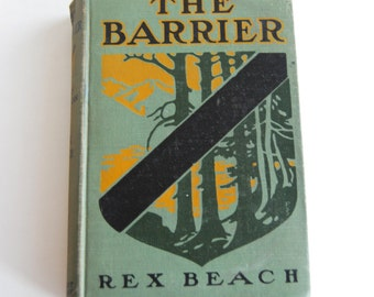Vintage Book, The Barrier