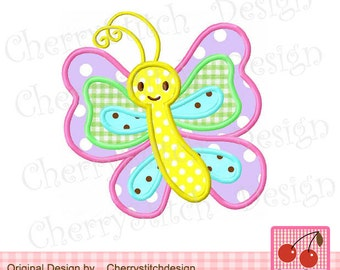 """Embroidery design Butterfly Machine embroidery applique -4x4 5x5 6x6"""""""