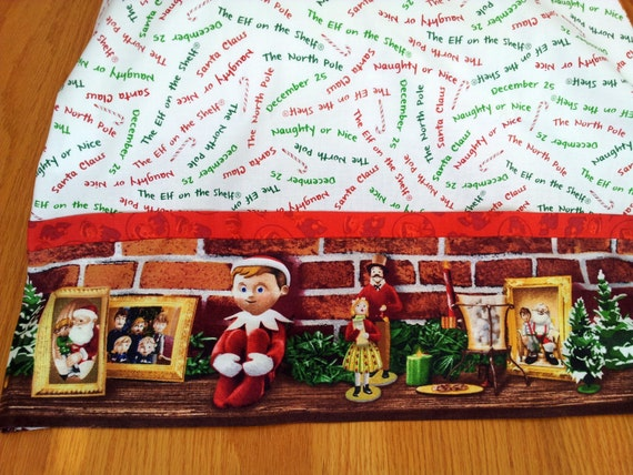 Elf on the Shelf  Pillowcase