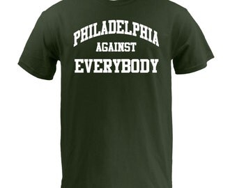 Philadelphia Against Everybody - White on Forest