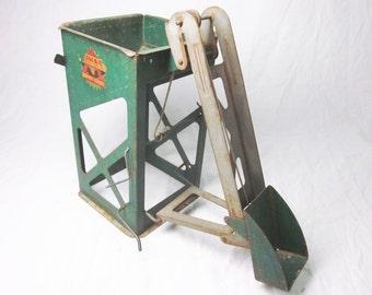 Toy Truck Grain Hopper and Coal Hopper by Marx