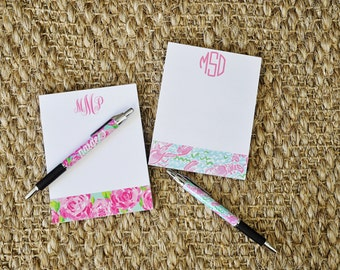 Monogrammed Personalized Palm Beach Note Pad