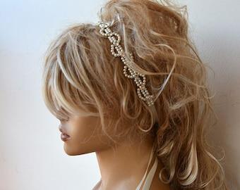 Pearl, Pearl  Headband, Bridal Pearl Headband, Wedding Accessories,  Bridal Hair Accessory