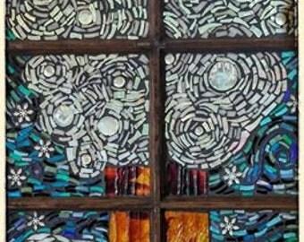 "Mosaic Art by Jaden Hanks of Marvelous Mosaic ""Winter Solstice"""