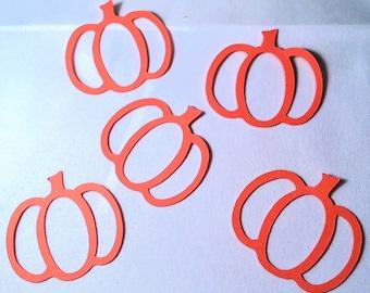 50 Pumpkins die cuts, Halloween ornaments