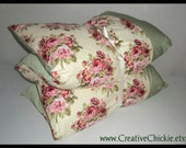 Shabby Chic Pillow Bed, Victorian Children's Nap Mat, Sleepover Bed