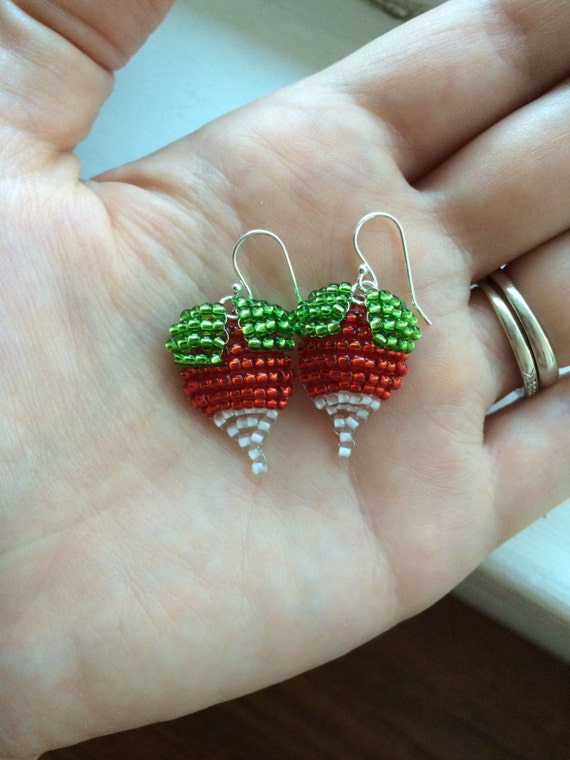 radish earrings radish earrings radish earrings dirigible 9434