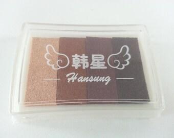 Stamp Ink Pad -Brown