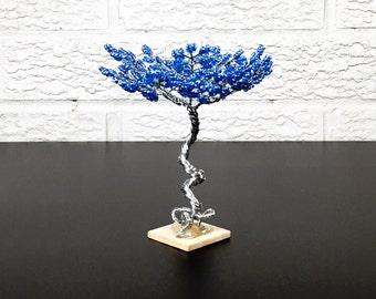 Mini Zen Garden Tree - Lt. Blue