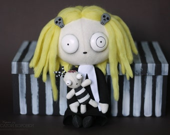 Lenore, the Cute Little Dead Girl — Textile Doll
