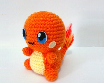 Charmander Amigurumi Free : Red Christmas Dollhouse Making Etsy Studio