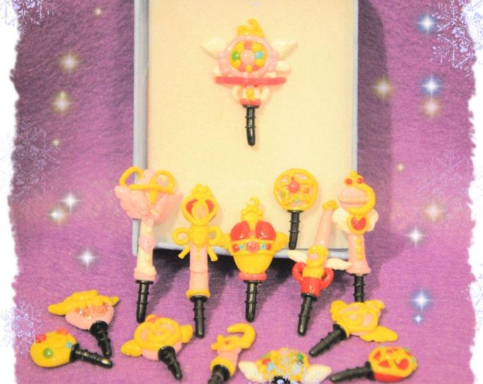 Sailor Moon KAWAII magic Phone Plugs
