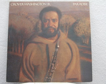 "Grover Washington Jr. - ""Paradise"" vinyl record"