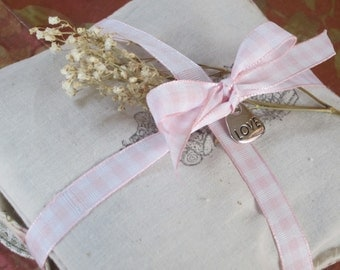 SACHETS handmade pack of three Wedding Bridal Favor filled with organic  lavender from California USA