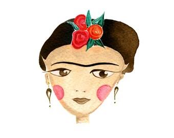 Frida Kahlo Print - art print
