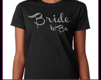 Bride to be / Wedding party Rhinestone T-Shirt