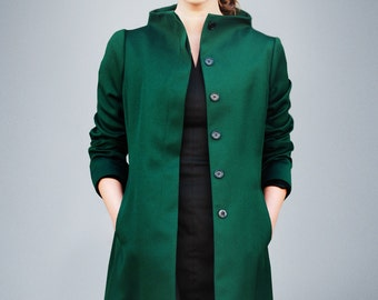 J.A.C.K.I.E  darkgreen coat