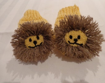 Lion Mittens- size small