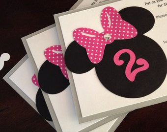 Classic Minnie Mouse Invitations