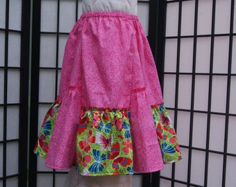 4T Gathered Skirt, Cotton Skirt