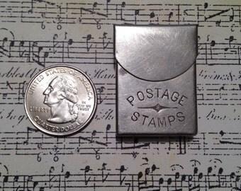 Antique Postage (Stamp) Silver Metal Holder 1890