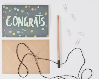Greeting card - Congrats