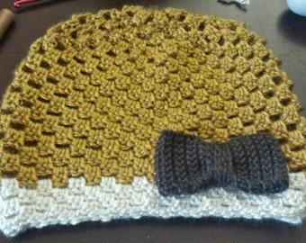 Child's crochet beanie