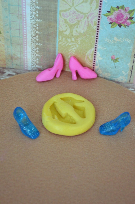 Shoes Silicone mold-glass slipper -on sale- from ...
