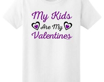 My Kids Are My Valentines Ladies T-Shirt 2000L - FA-785