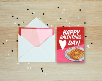 Happy Galentines Day Card
