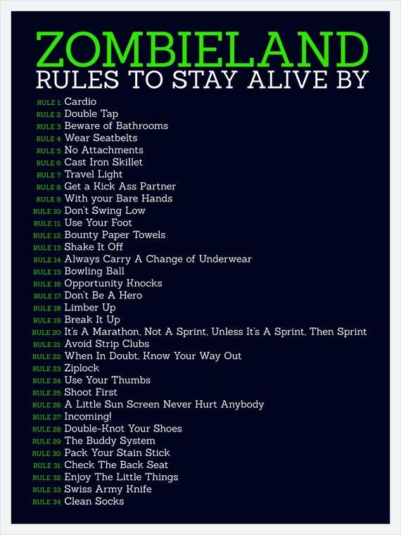 Zombieland Regeln
