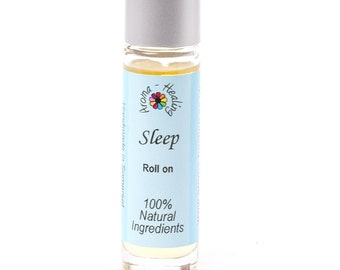 SLEEP Aromatherapy Rollerball Roll On | Insomnia | Natural Remedy | Pure Essential Oil Blends | Natural Relief | Vegan