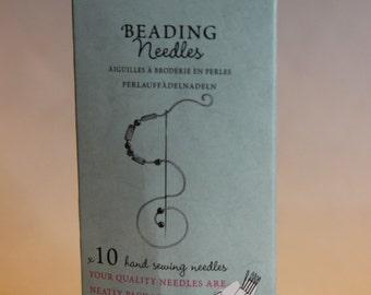 John James Beading Needles - 10 Hard Sewing Needles - JJCC015