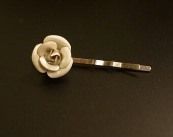 Vintage Rose Bobby Pin