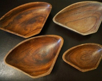 Lot of Wooden Bowls