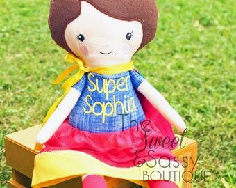 Girl Super hero doll