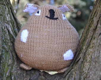 Knitted Sumo Bunny